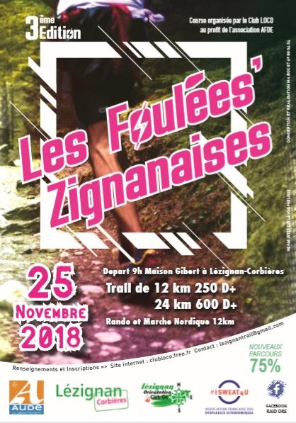 Trail Les Foulées'Zignanaises